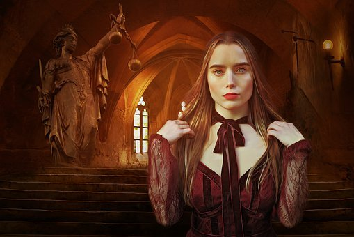 Fantasy, Medieval, Gothic, Dark, Castle, Gothic Windows