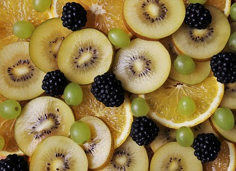 Fruit, Delicious, Blackberries, Vitamin C, Kiwi, Flu