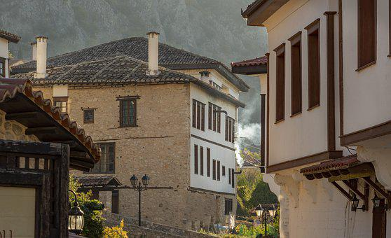 Houses, Tradtional, Kastoria, Greece, Atmosphere