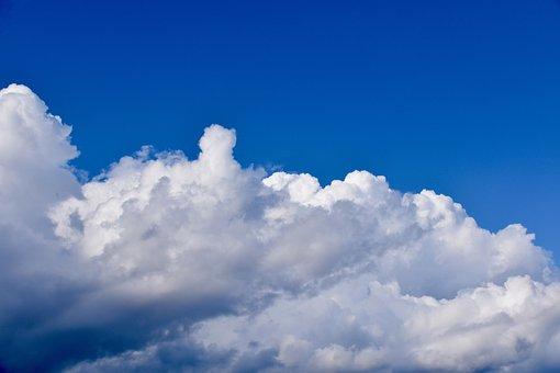 Clouds, White Clouds, Grey Clouds Cumulus, Cumuloninbus