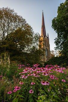 Hagakyrkan, Church, Flower, Flowers, Gothenburg, City