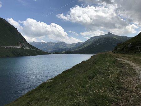 Lai Da Sontga Maria, Alpine Route, Alps, Alpine