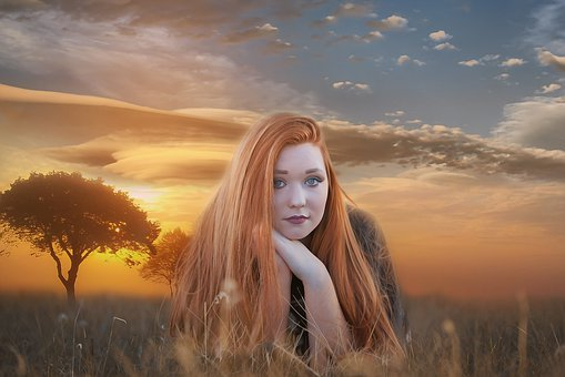 Portrait, Fantasy, Fantasy Portrait, Woman, Girl, Young