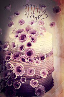 Cake, Festival, Wedding, Love, Romance, Celebration