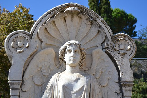 Statue, Angel, Sculpture, Monument