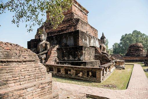 Thailand, Sukhothai, Part Of The Historical Park