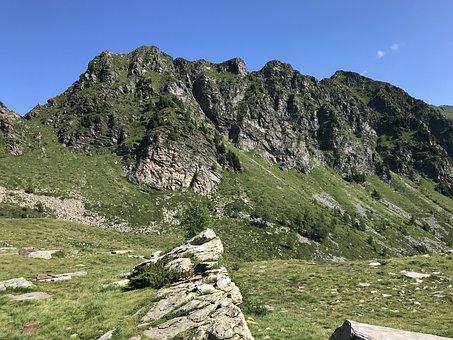 The Gorn De Golin, Alpine Route, Alps, Alpine