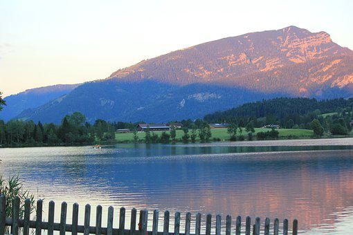 Walchsee, Vacations, Austria, Mountains, Kaiserwinkl