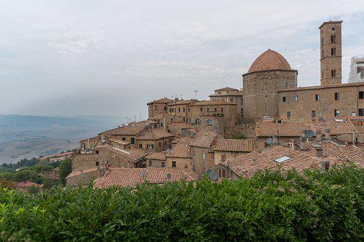 Toscana, Town, Italy, Tuscany, Architecture, Building