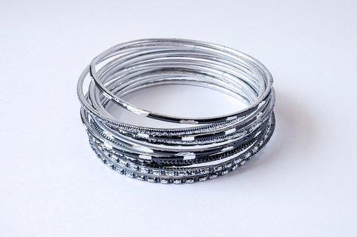 Jewelry, Bracelet, Fashion, Bracelets, Silver, Ornament