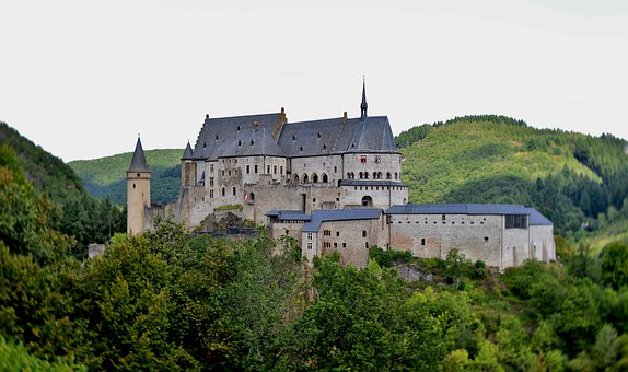 Castle, Knight Castle, Middle Ages, Architecture