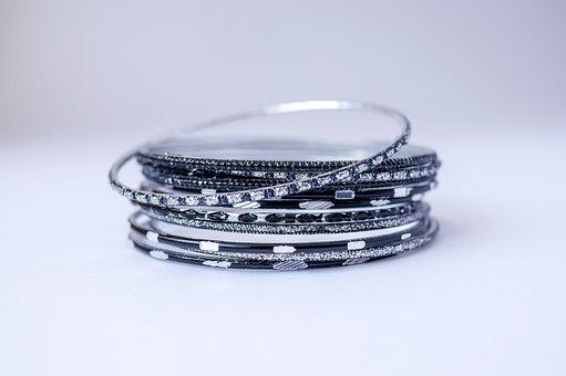 Jewelry, Bracelet, Bracelets, Fashion, Silver, Ornament