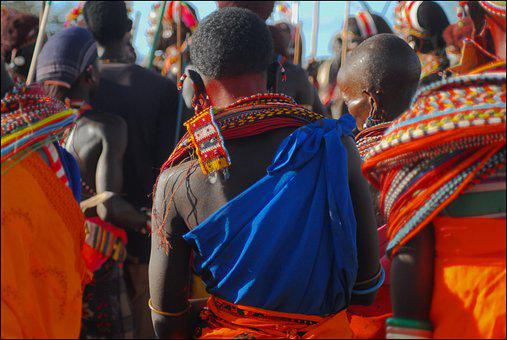 Samburu, Ceremony, Kenya, Africa, Traditional