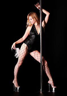 Striptease, Night Club, Bar, Pylon, Pole, Erotic Dance