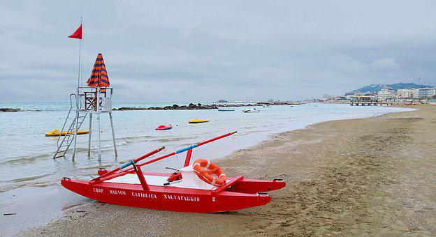 Beach, Emergency, Rescue, Safety, Sos, Red Flag