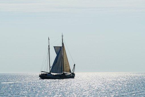 Sailing Ship, Ship, Boat, Sailing Boat, Sailing, Sea