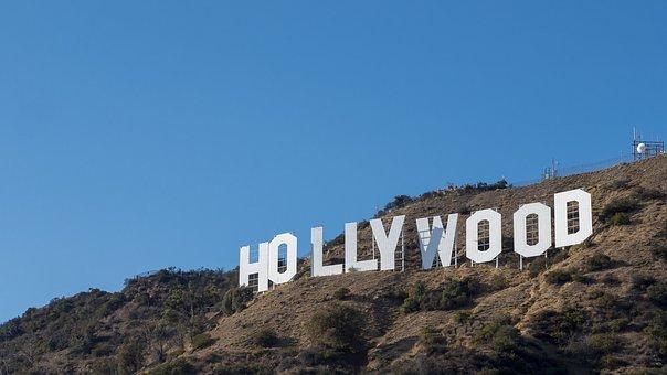 Hollywood, Sign, La, Los Angeles