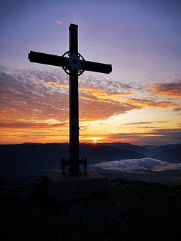 Sunrise, Summit Stormer, Summit, Summit Cross, Nature