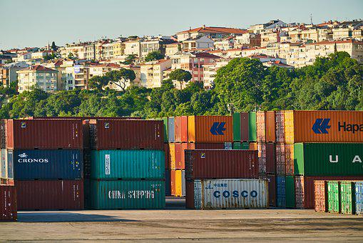 Container, Shipping, Load, Ship, Port, Transport, Trade
