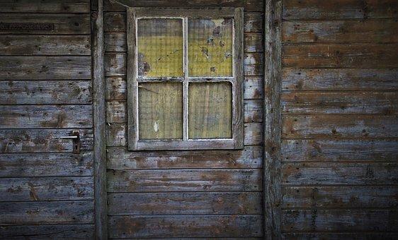 Target, Old, Entrance, Weathering, Door Handle, Facade