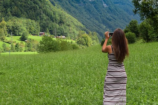 Woman, Photography, Nature, People, Camera
