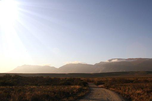 Africa, Sun, Landscape, Nature, Sky, Sunlight, Rays