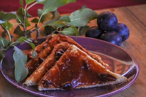 Damons, End Of Season, Plums, Fruit, Food, Autumn