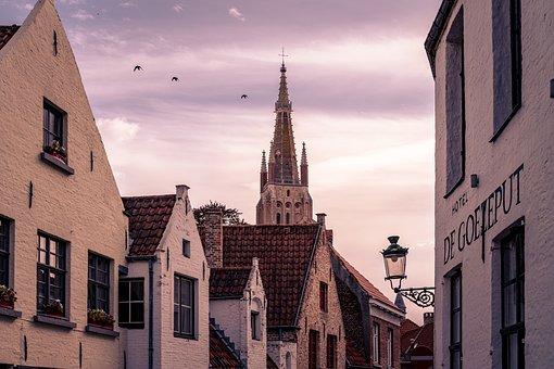 Belgium, Bruges, Architecture, Building, Brugge, City