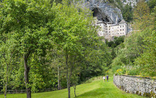 Predjama Castle, Castle, Slovenia, Postojna, Predjama