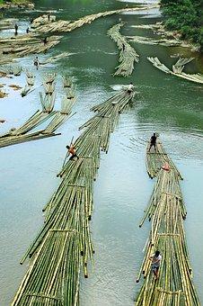 Fishermen, Fishing, Downstream, The River Code