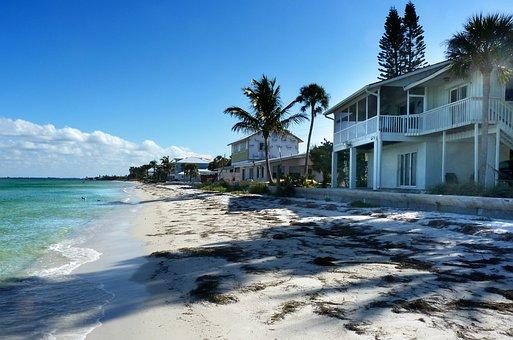 Villas, Beach, Florida, Sea, Travel, Waterpolo, Summer
