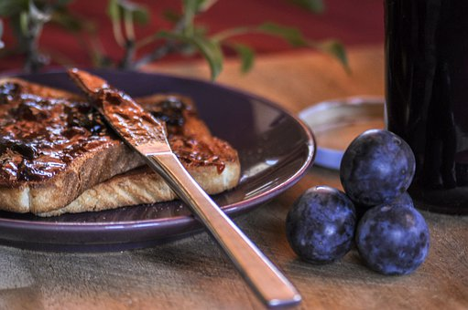 Damons, End Of Season, Plums, Fruit, Purple, Food