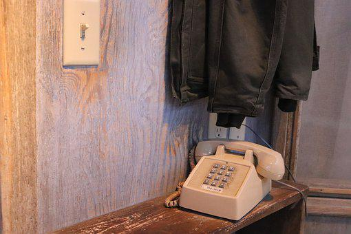 Phone, Light Switch, Retro, Input Range, Floor