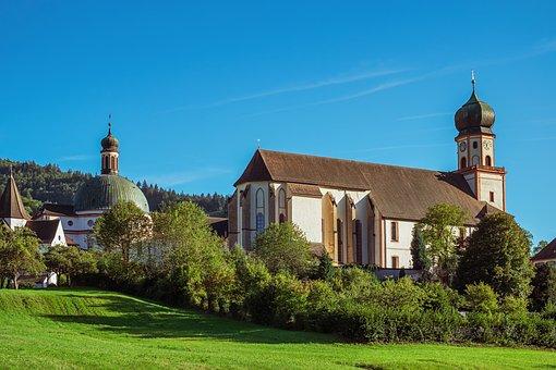 Monastery, Church, St Trudpert, Benedictine Monastery