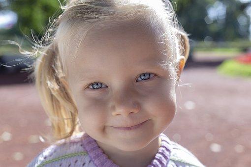 Girl, Baby, Portrait, Kids, Person, Eyes, Mood, Closeup