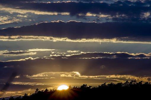 Sunset, Atmosphere, Heaven, Night, Evening, Twilight