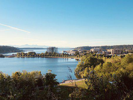 Olympia, Washington, City, Capital, Lake