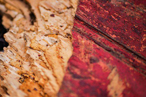 Texture, Old, Red, Paint, Chipped, Broken, Wood, Plank