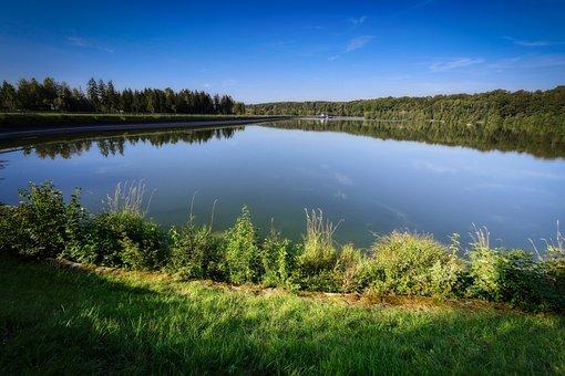 Barrage, Lake, Reservoir, Water, Water Power, River