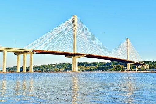 Suspension Bridge, Wide Span Bridge, Transportation