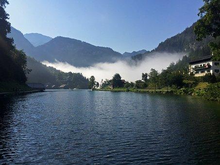 Berchtesgaden, Bavaria, Vacations, Lake, Landscape