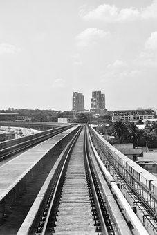 Ktm, Mrt, Black And White, Monochrome, Brighton