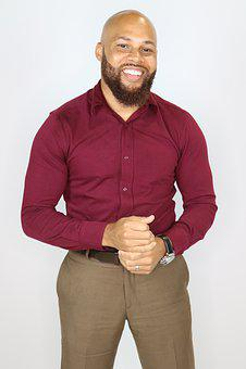 Smiling Man, Business Casual, Dress Shirt, Businessman