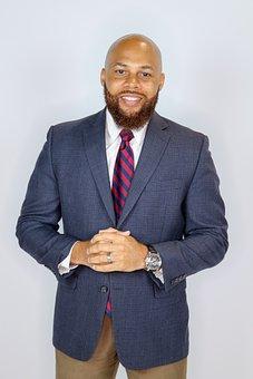 Businessman, Black Man, Successful, Executive
