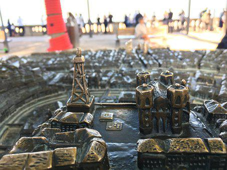Lyon, Cathedral, Model, Church, Monument