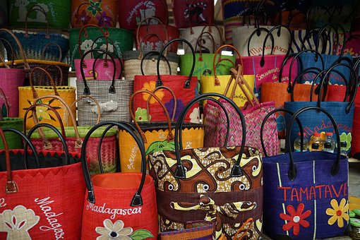 Bag, Colorful, Color, Market, Pattern