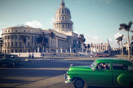 Cuba, Havana, Oldtimer, Auto, Classic, Old, Automotive