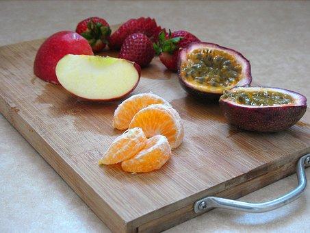 Fruit, Gourmet, Dine, Fresh, Strawberries, Vegetarian