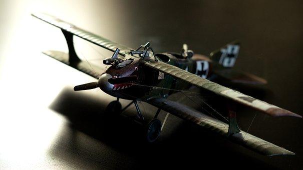 Roland C, Ii, Model, Aircraft, Double Decker, Air Force