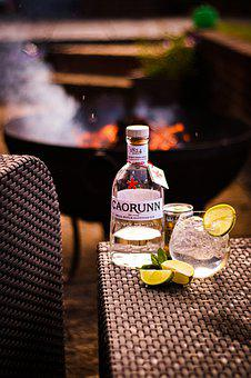 Drink, Fire, Alcohol, Cocktail